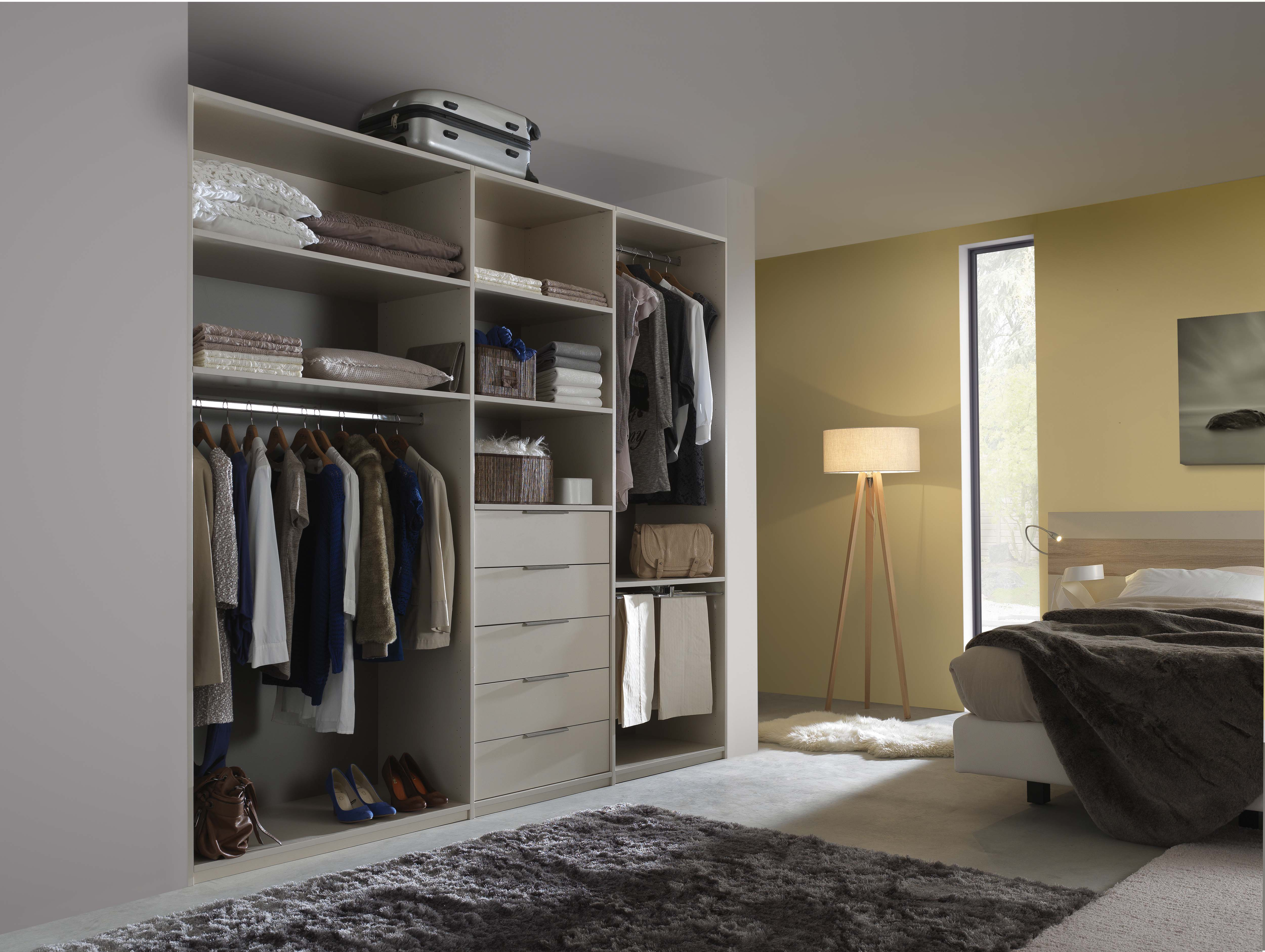 chambre a coucher dressing